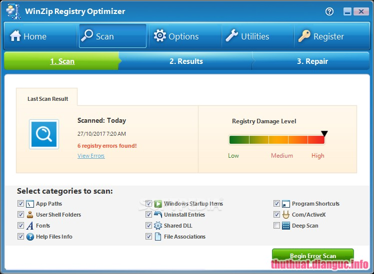 Download WinZip Registry Optimizer 4.19.7.2 Full Cr@ck