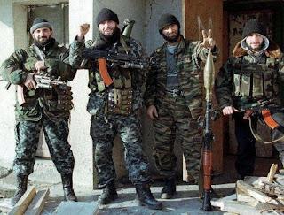 Tschetschenische Polizisten in Österreich