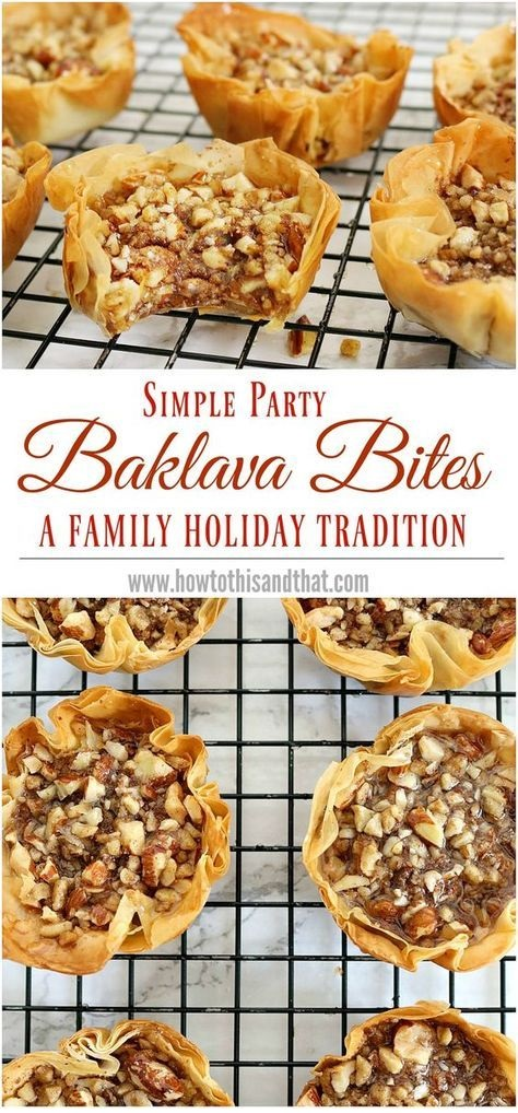 Easy Baklava Recipe- 15 Minute Bites