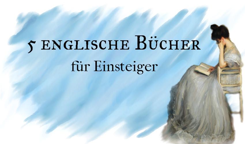 5 Englische Bücher für Einsteiger