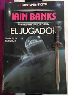 Portada del libro El jugador, de Iain M. Banks