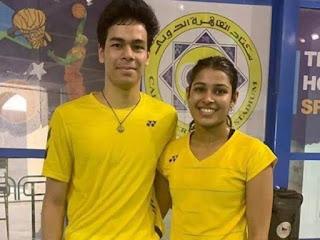Kuhoo Garg-Dhruv Rawat won Egypt International Mixed Doubles Title