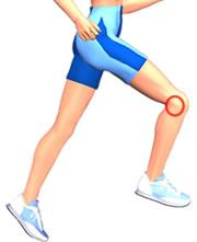 Blog 75 infos sant sport et sant douleurs sur le c t for Douleur genou exterieur
