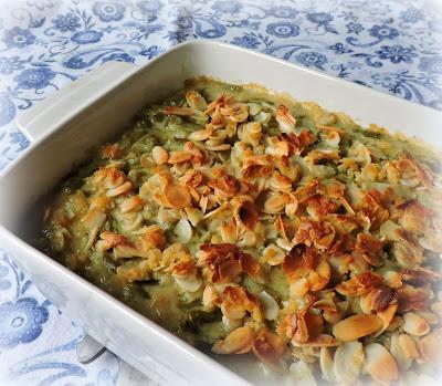 Green Bean & Almond Casserole