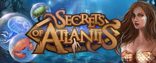 Secrets of Atlantis free slot by NetEnt