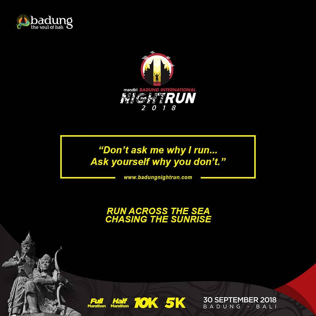 Badung International Night Run • 2018