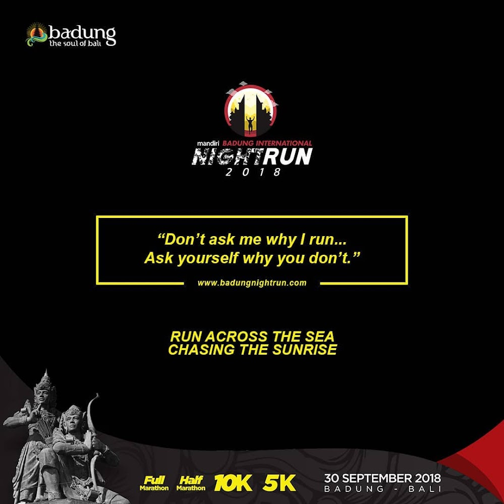 Badung International Night Run • 2018