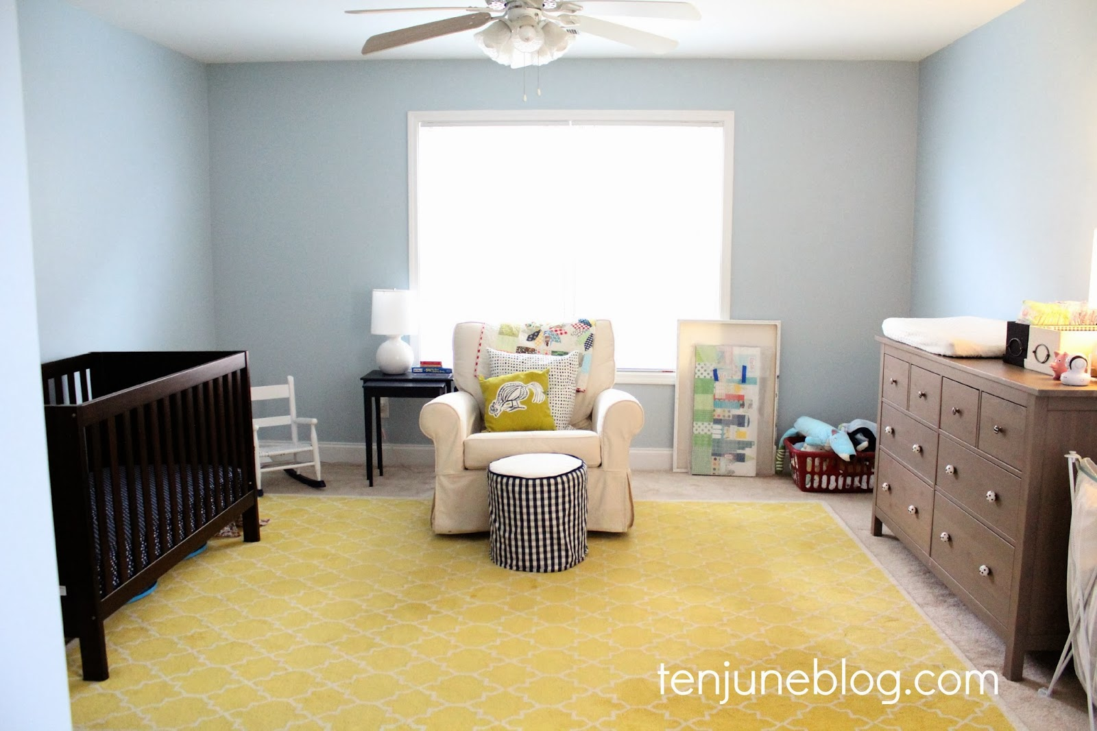 Ten June The Perfect Little Boy Blue Paint Color Hdawg S Painted Bedroom