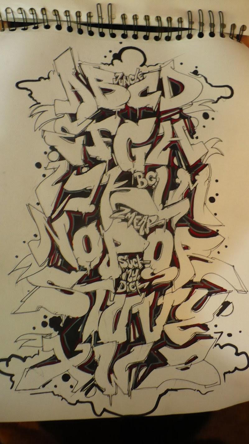 graffitie alphabet graffiti wildstyle. Black Bedroom Furniture Sets. Home Design Ideas