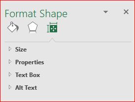 Format Shape of a Chart