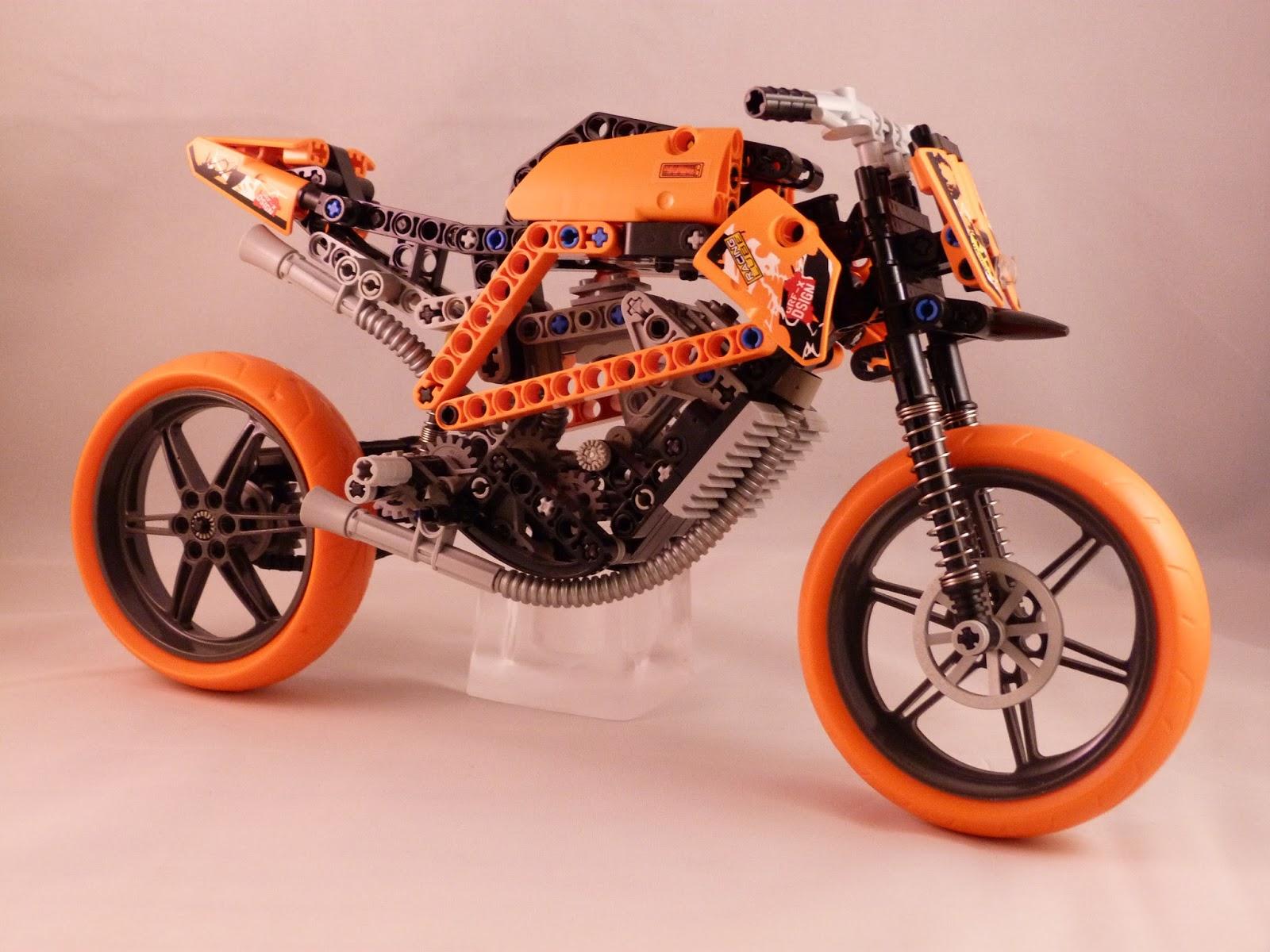 lego technic motorcycles ktm superduke r by nemmoz. Black Bedroom Furniture Sets. Home Design Ideas