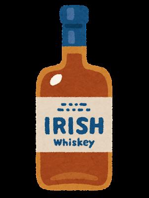 アイリッシュウイスキーのイラスト