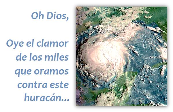 Oracion contra Huracanes para calmar la tormenta