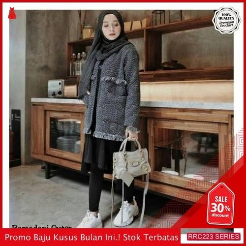 RRC223R48 Ramadani Outer Wanita Terbaru BMGShop