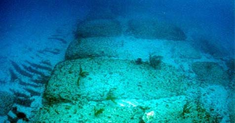 Bimini Road Mystery of the Path under the Sea