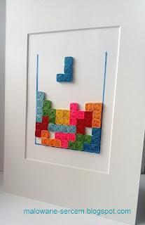 Quilling Tetris – vortex coils