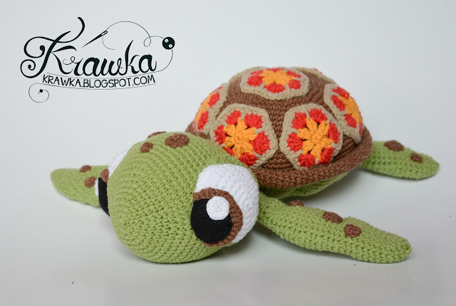 Krawka: Squirt sea turtle from Finding Nemo - crochet pattern by Krawka