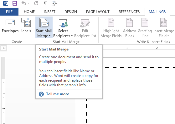 how to create a mail merge certificate
