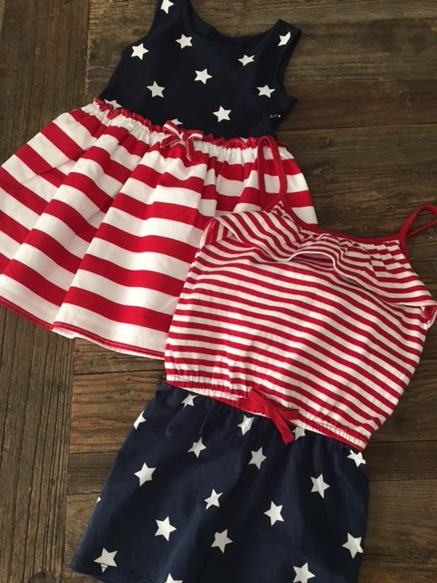 4th of July toddler wear