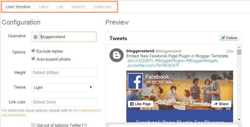 How To AddEmbed Twitter Timeline In Blogger Template BloggersStand - Timeline blogger template