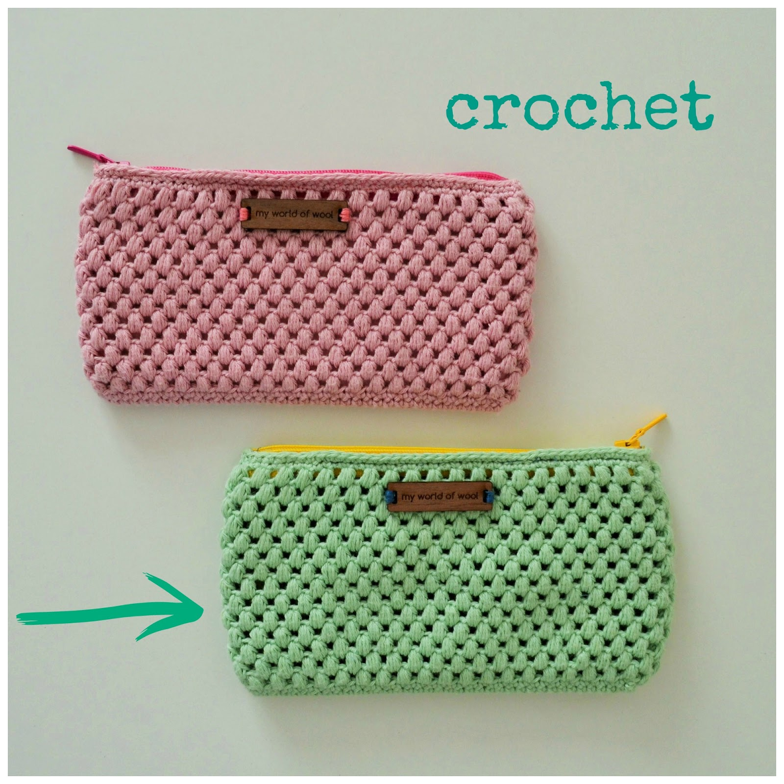 Little Crochet Bags And Love Of An Cuando No Me Ves