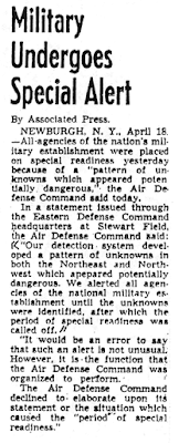 Military Undergoes Special Alert - USA News Report 4-18-1952