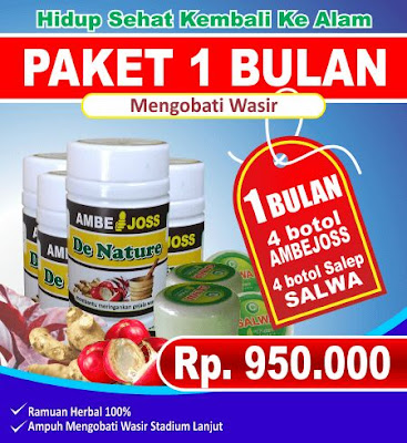 Paket Untuk Obat Abeyen Wasir de Nature Indonesia