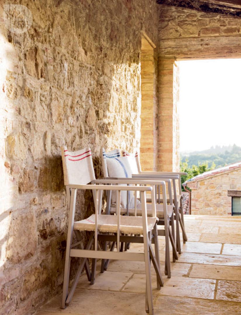 Una bella villa restaurata in Val D'Orcia, Toscana