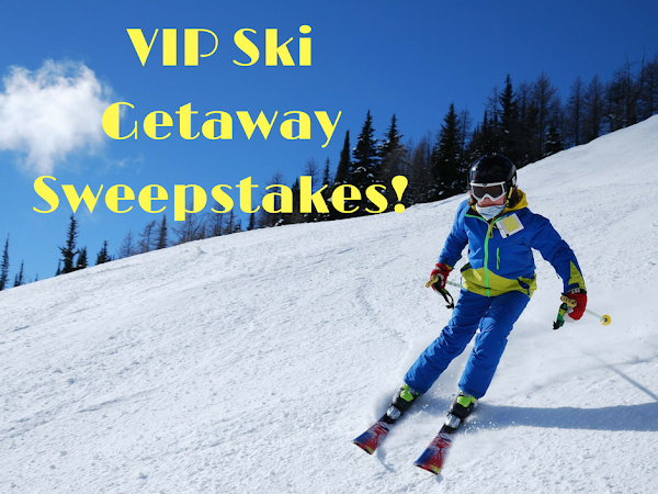 Enter to Win a VIP Ski Getaway for Two! #Contest