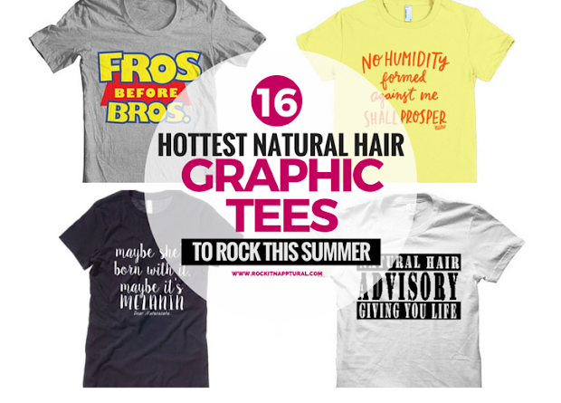 hottest natural hair graphic