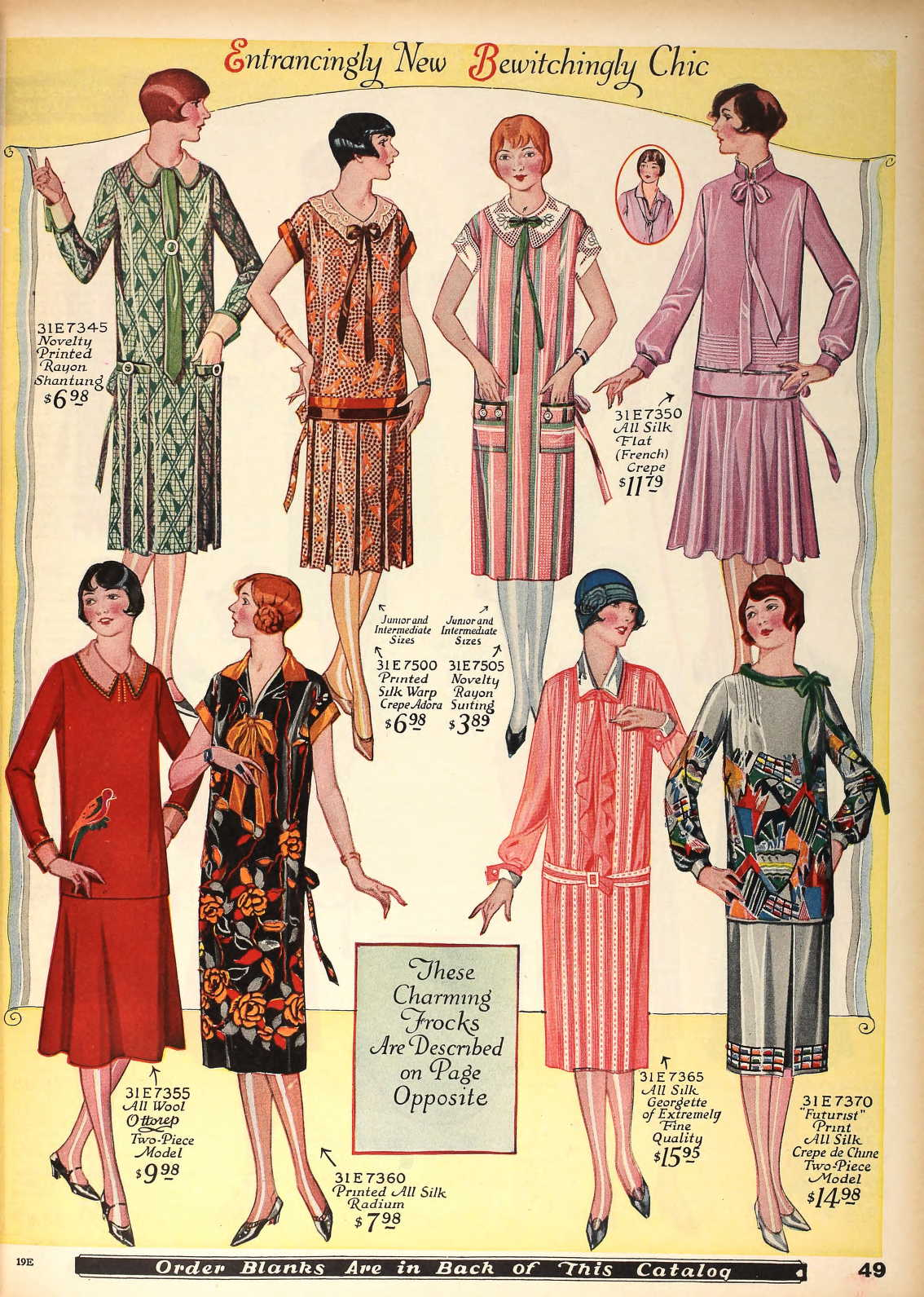 Snapped Garters 1926 Fashions In Colour
