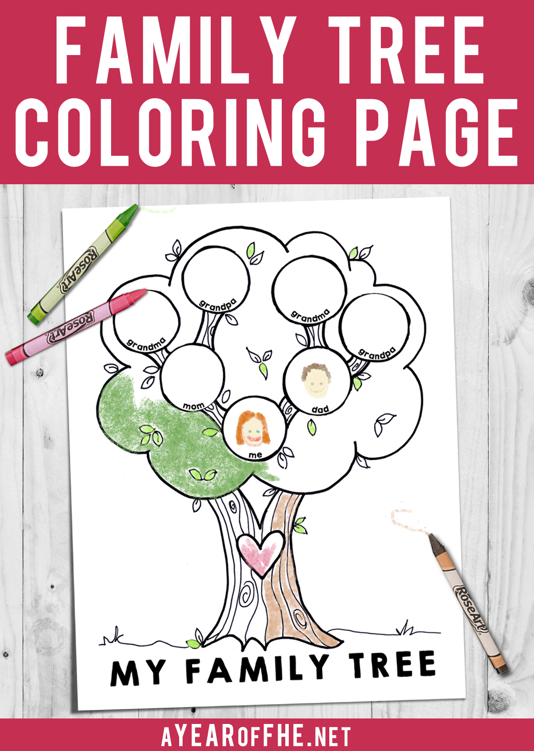 A Year Of Fhe Lds Coloring Page My Family Tree