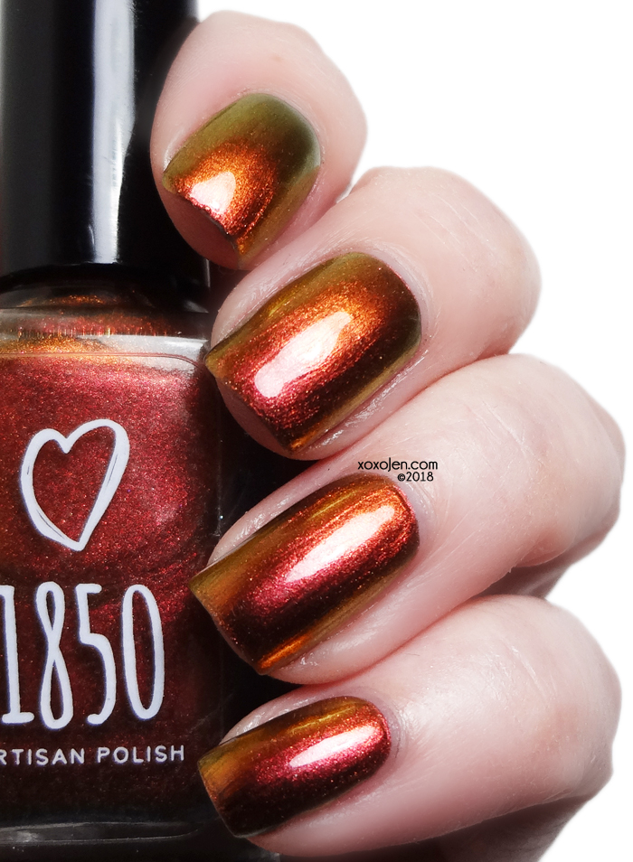 xoxoJen's swatch of 1850 Garibaldi