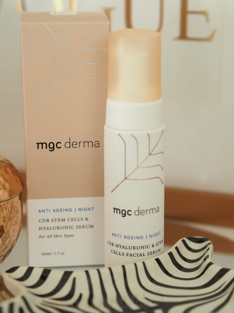 MGC Derma  CBD Hyaluronic & Stem Cells Facial Serum