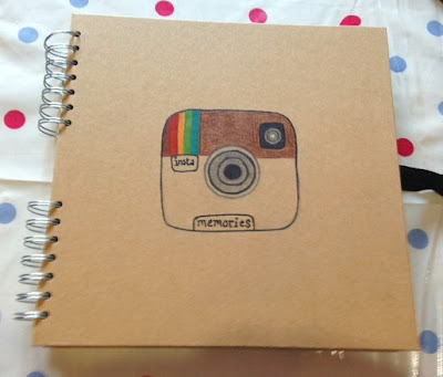 Creative catch-up ~ instamemories DIY photo album