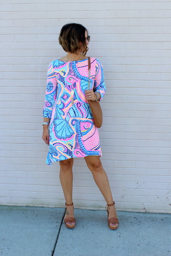lilly pulitzer, edna dress, preppy style