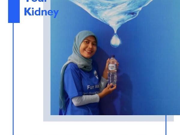 World Kidney Day : Perayaan Hari Ginjal 2019 Bersama Danone-AQUA
