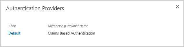 check sharepoint web application authentication mode