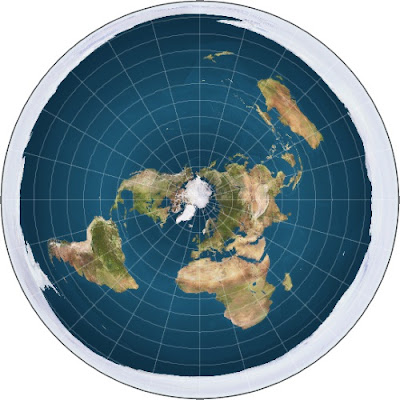 Pointing readers to an existing post that has been substantially revised with additional information refuting flat Earth concepts.