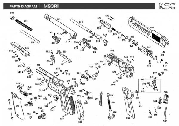 Disassembly  Diy  My Airsoft Gun  And Other Things  Ksc