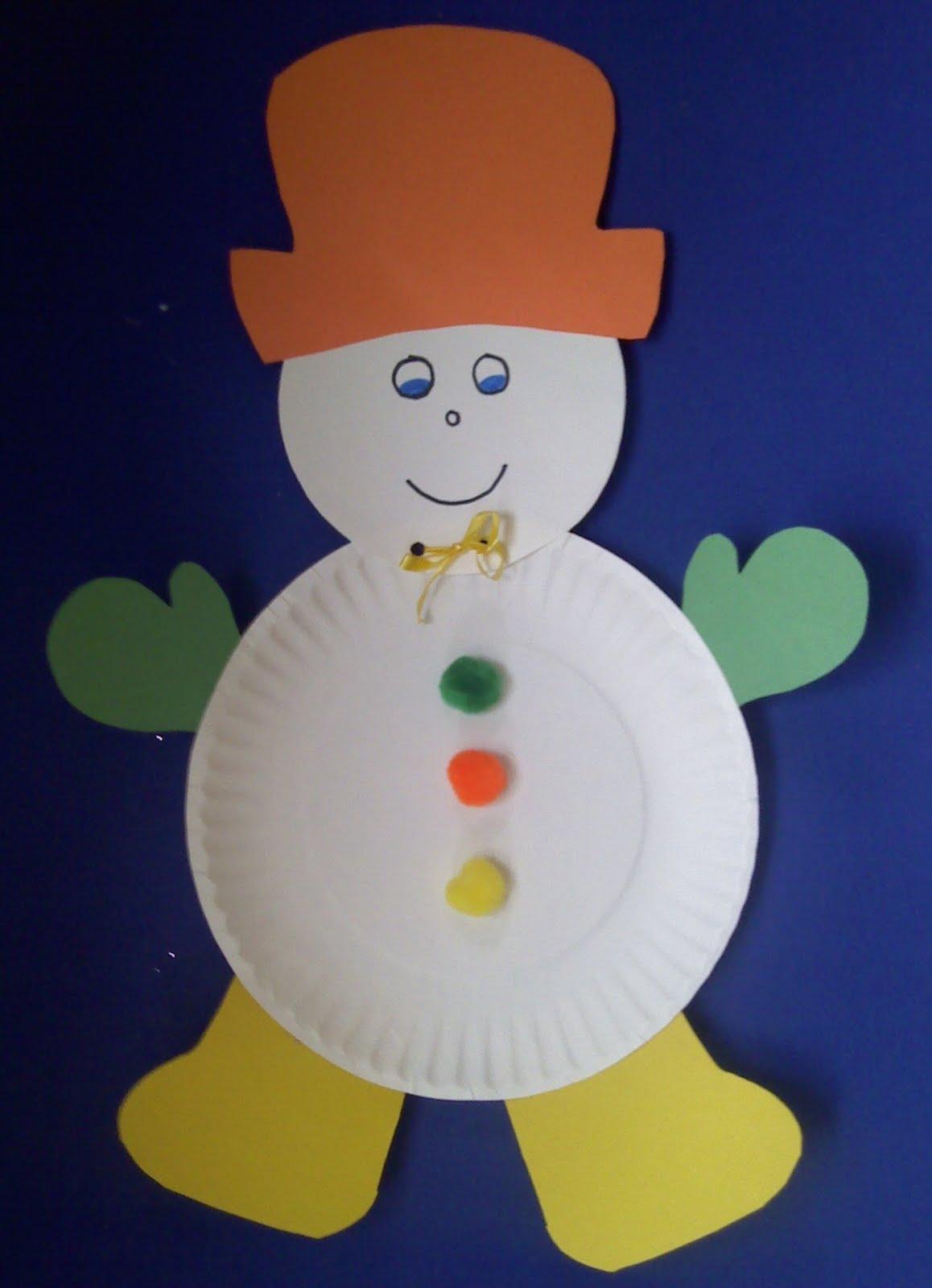 Crafts For Preschoolers Winter Crafts