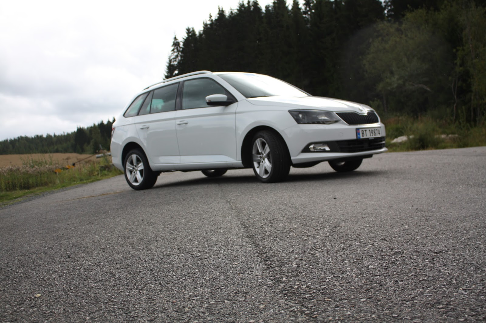 test skoda fabia style 1 2 tsi dsg stasjonsvogn bil og motorbloggen. Black Bedroom Furniture Sets. Home Design Ideas
