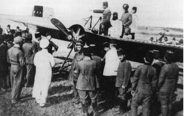 Aya Stefanos'tan Ordu adı verilen REP model uçağın kalkışı