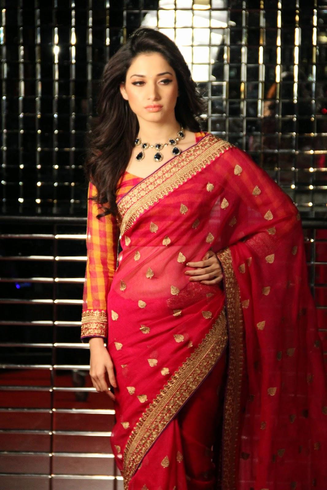 Tamanna in Silk Saree Photos | Actress Saree Photos|Saree ...