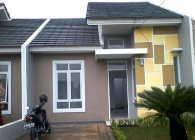 kreasi warna rumah minimalis sederhana
