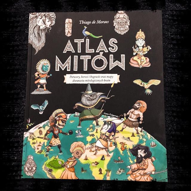 """""""Atlas mitów"""", czyli włochaci ludzie, rogate węże i gadające rzeki"""