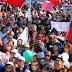 Cerca de 3 mil trabajadores se movilizaron  este jueves en Osorno