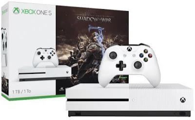 Xbox One S 1 TB + La Tierra Media Sombras de Guerra