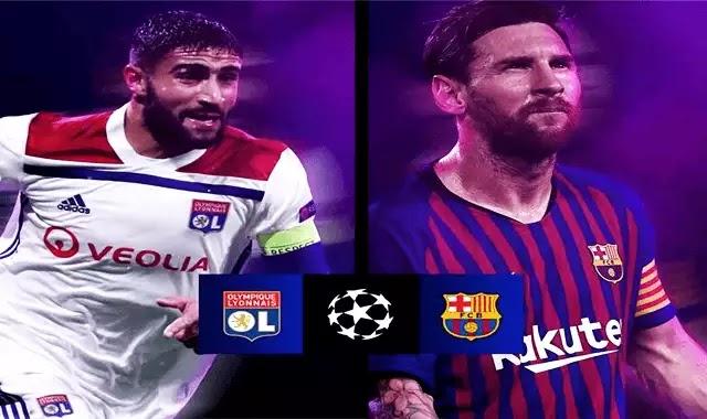 مشاهدة مباراة برشلونة وليون بدون تقطيع 19-2-2019 النارية دوري ابطال اوروبا