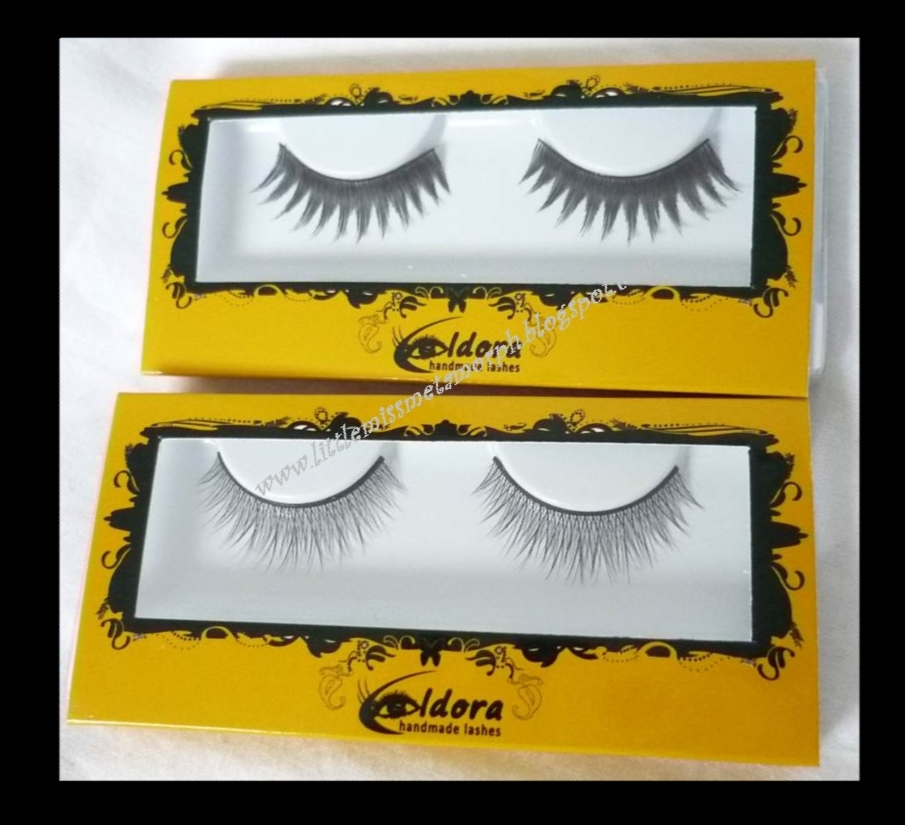 05140a1dc93 The synthetic are fine feathery lashes that look like they'd blend in well  to my own lashes without looking over done. As with any eyelashes i had to  trim ...
